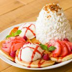 エッグスンシングス福岡天神店のパンケーキ