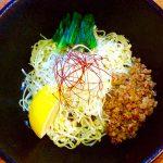 麺劇場 玄瑛の檸檬薫帆立和え麺